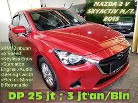 Mazda 2 V skyActiv 6 speed KM 12ribuan