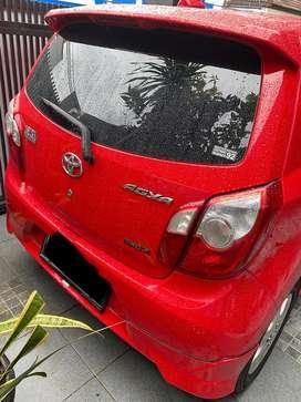 Jual Toyota Agya 1.0 G TRD Sportivo Manual warna Merah