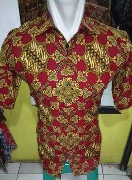 Batik pria lengan pendek MD printing B'raden