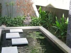 Buat kolam minimalis