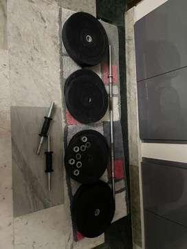 Affordable home gym setup.