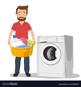 Dibutuhkan segera pria untuk pegawai laundry