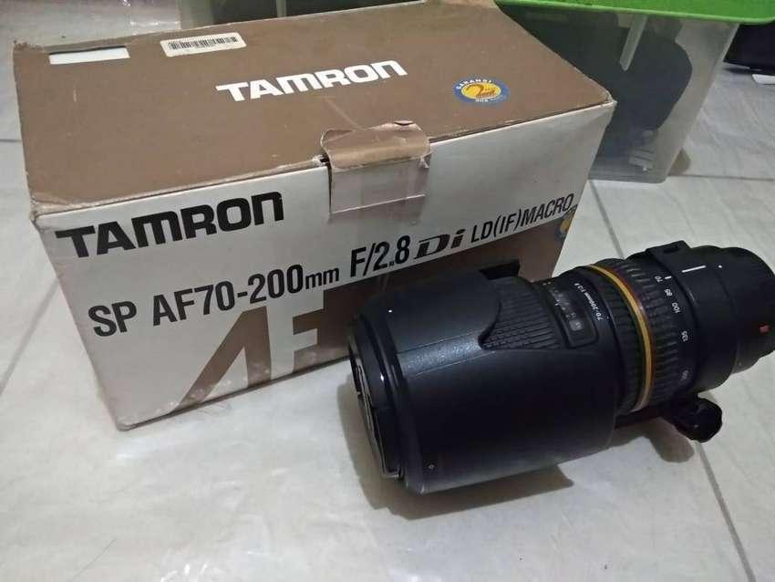 Tamron 70 - 200 f 2.8 for Canon 0