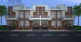Duplex villa 3bhk extention