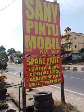 Bengkel SANY PINTU MOBIL centrallocl alarm kunci pintu mobil