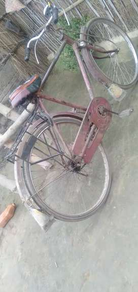 Second hand cycle is very fast speed