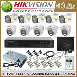 FREE ONGKIR Paket Camera Cctv Indoor Hkm 2mp 4in1 4channel 5in1 Full H