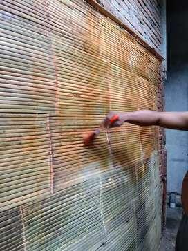 """Tirai bambu dan tirai rotan 2""""2"""