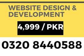 Complete Website with best design & features for any business