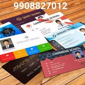 PVC cards printing