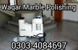 Marble Polish, Marble Grinding & Fixing