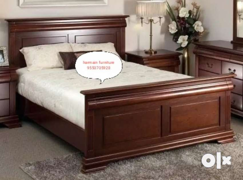 Limited offer hurry up teakwood bed in wholesale price 0
