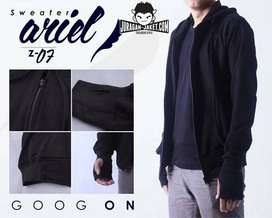 Sweater Ariel Roundhand Black Simply