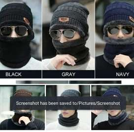 Cap and neck scarf