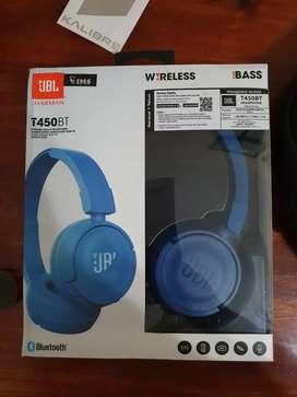 JBL Headphone Wireless T450BT sebulan pakai garansi resmi panjang
