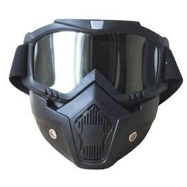 Kacamata motocross + masker / Google Motocross