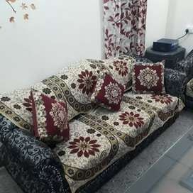 Sofa set with 2 single sitting chair and one 4 sitting