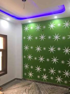 2bhk floor nice flooring with car parking  call us