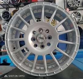 HSR velg racing R16x7 pcd 8x100-1143 silver