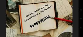 We will write all the records for all the students