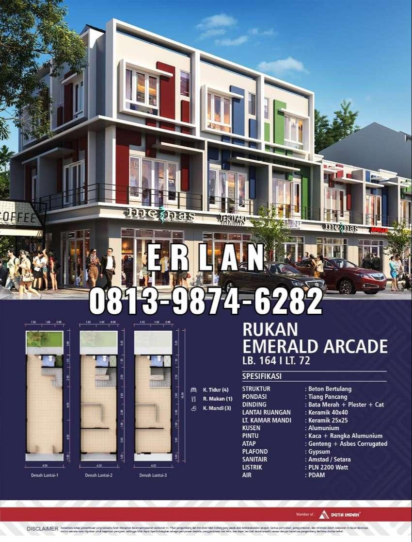 Ruko 2 Lantai d Grand Duta Tangerang, Free DP, Gratis Motor Ac Voucher