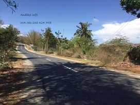 lahan kecil 10 Are atau 1.000 m2 Dekat Sirkuit GP Pinggir jalan Raya