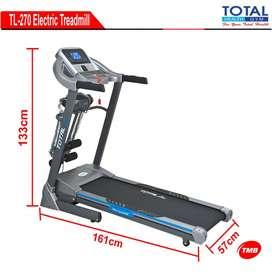 treadmill elektrik rumahan bisa cod sudah auto incline tl 270