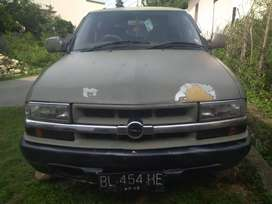 Opel blazer murah tahun 2001 BL, pajak mati 3 tahun sudah mesin panthe