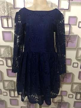 Preloved Dress Brokat