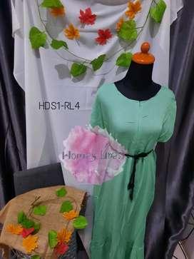 Homey Dress busui no belt