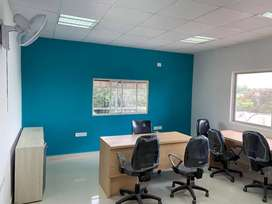 fully furnished office on rent  (air conditioned)