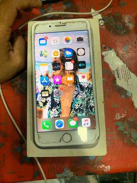 iphone 7 plus 128gb in good condition silver colour