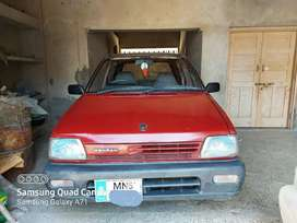 Suzuki Mehran In Genuine Condition