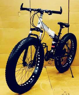 BMW fat tyre foldable Cycle available for