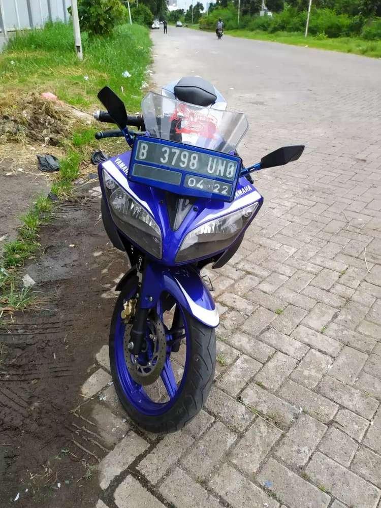 Yamaha R15 tahun 2017 surat lengkap km 16rbu