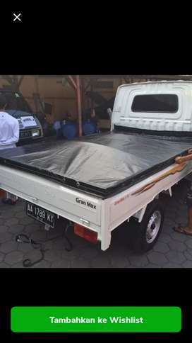 Tutup bak pick up l300 futura grand max ss t120 hilux - hitam