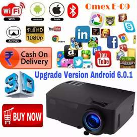 UPGRADE YOUTUBE ANDROID WIFI HD PROJECTOR SCHOOL HOME CLASS HOTEL CAFÉ