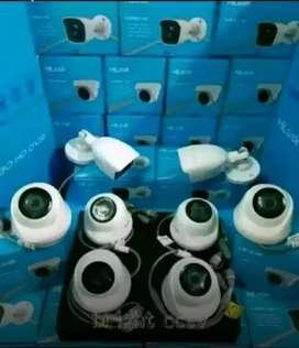 Kantor pabrik rumah siap pasang dengan kamera CCTV
