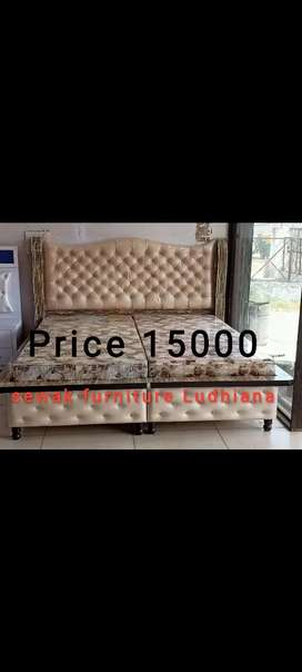 Queen size bed available in color of your choice