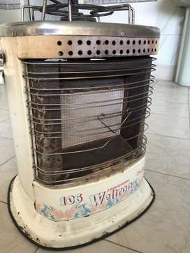 Gas Heater plus buner