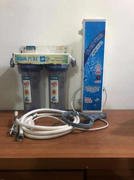Water purifier with ultra violet sterilizer