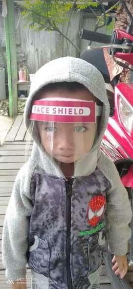 Face shield dewasa, bayi & anak