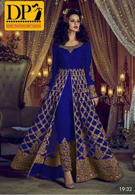 Full Embroidered Maxi 2pc