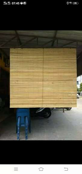 Jual tirai antar dan isi bambu dan isi bambu isi bambu