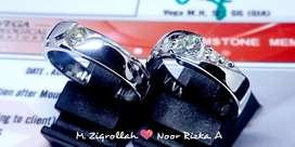 Jasa trima custom cincin kawin atau Couple Hanmade