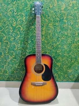 Pluto guitar with plectrum