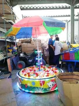 Pabrik pancingan berpayung edukasi kereta mini odong AF
