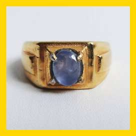 Cincin Batu Permata Blue Sapphire (Safir)(2.70 ct)
