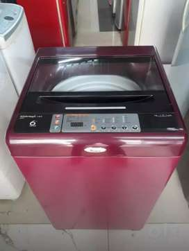 Whirlpool whitemagic 1-2-3 maroon color washing machine