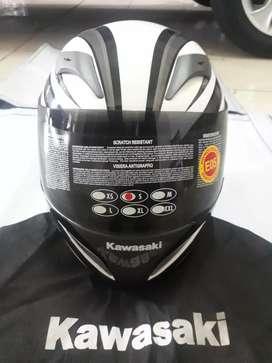 Helm Full Face ex Ninja muluzz tidak pernah pakai